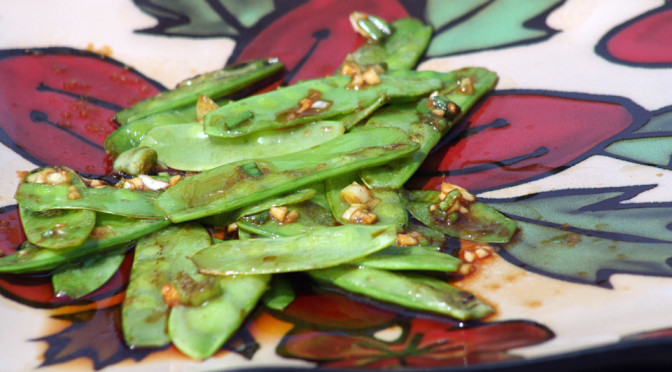 Stir-fried Snow Peas